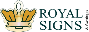 Pflugerville Awning Signs royal signs logo 300x108