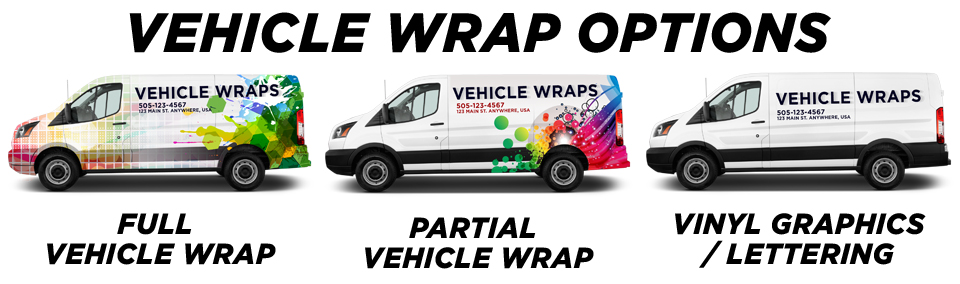 Del Valle Vehicle Wraps vehicle wrap options